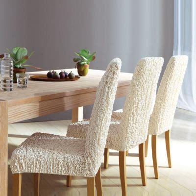 housse extensible pour chaise housse gaufrée extensible pour tous types de chaises