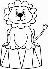 Clown Coloring Circus Pages Lion Drawing Animals Animal Sheets Adults Elephant Ringmaster Printable Bubble Guppies Tent Adult Clipartmag Getdrawings Getcolorings sketch template