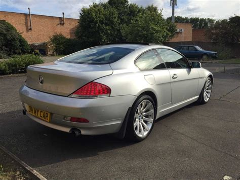 2005 Bmw 6 Series Coupe 630i 2dr Auto