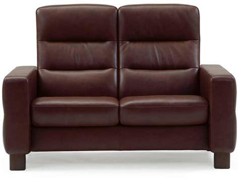 stressless wave high back sofa back in
