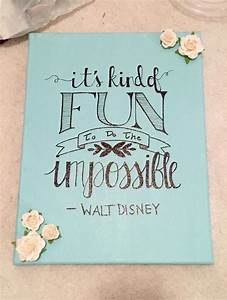 Best 25+ Disney... Pretty Canvas Quotes