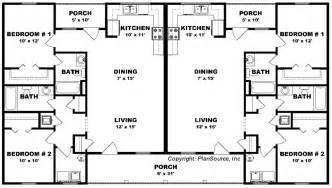 Bedroom Bath Duplex Floor Plans Pictures by Duplex House Plan J0423 14d