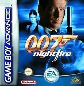 Gameboy Advance James Bond 007 Nightfire Modul