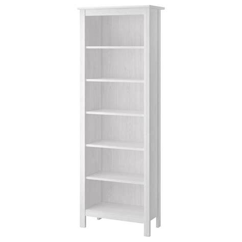 Brusali Bookcase White 67 X 190 Cm Ikea