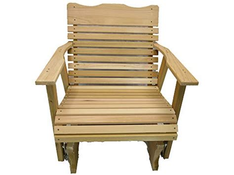 compare price wood glider chair outdoor