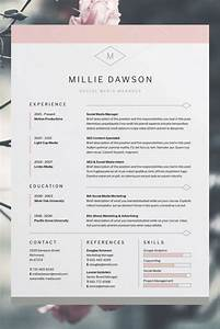 25 best creative cv template ideas on pinterest for Free resume layout