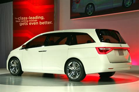 2018 Honda Odyssey Concept At Chicago Auto Show Photo