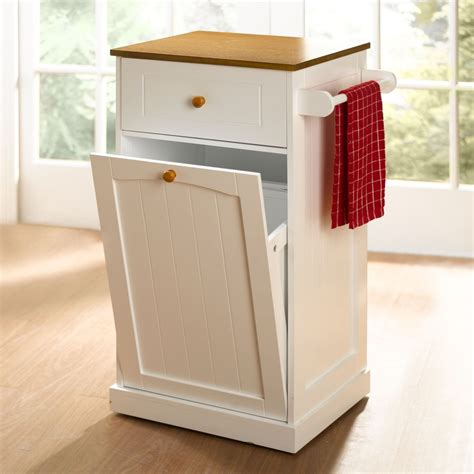 country kitchen pull  trash  trash cans