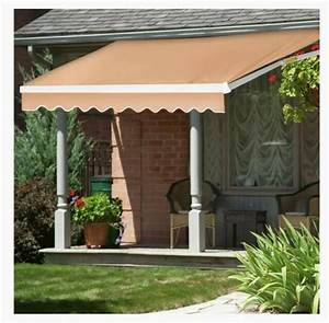 Joo Life Manual Patio Retractable Awning Window  Door Sun