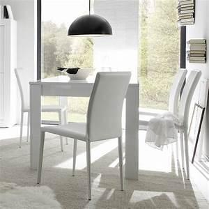 Table Salle à Manger : table de salle a manger design laque blanc focus zd1 tab r d ~ Teatrodelosmanantiales.com Idées de Décoration
