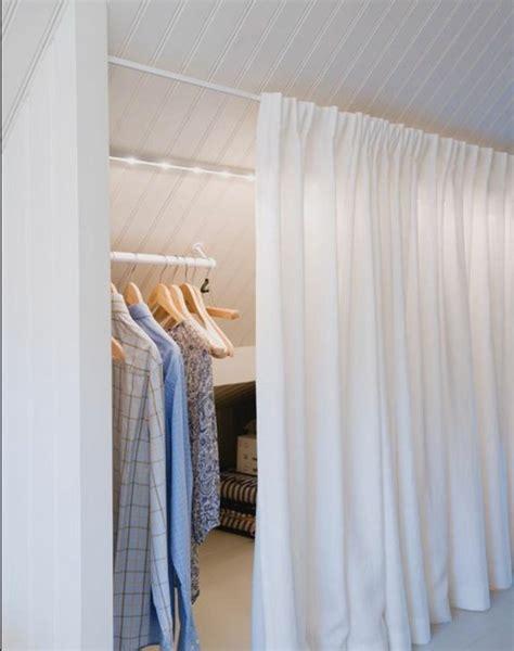 rideau de sous pente 1001 id 233 e pour un dressing sous pente gain de place