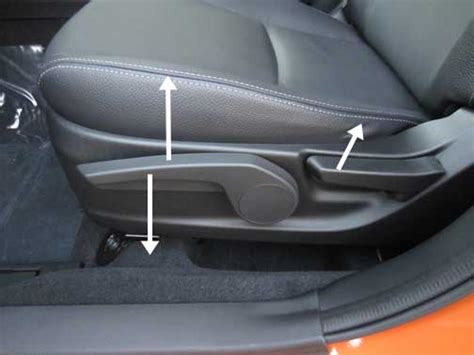 Driver's Seat Height Adjustment Problem
