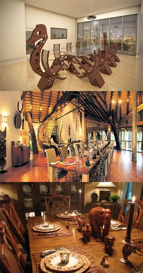 african safari dining room design interior design