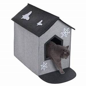 Niche Petit Chien : xxl filzi 2 en 1 niche pour chat zooplus ~ Melissatoandfro.com Idées de Décoration