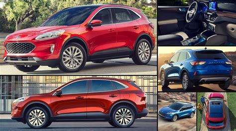 Explore the models of the 2021 ford® escape suv. Ford Escape (2020) - pictures, information & specs