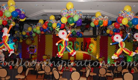 Theme Party Ideas  Circus Themed Party