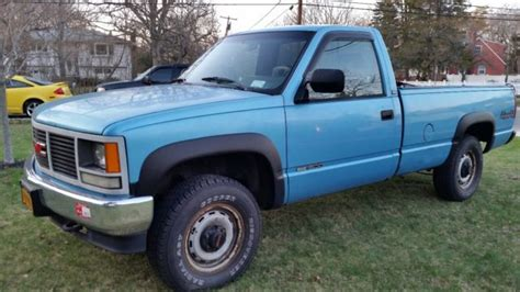 car manuals free online 1993 gmc 1500 club coupe engine control gmc sierra 1500 pickup 1993 blue for sale 1gtek14z7pe506968 1993 gmc pickup 1500 sierra 4x4 not