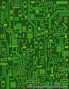 Electronic Circuit - Photo  Picture Definition At Photo Dictionary
