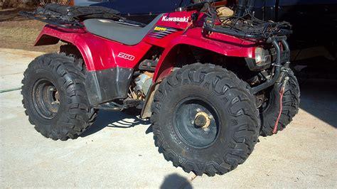 Kawasaki Bayou 250 Tires by 03 Bayou 250 Want Info Need Advice Mods Bling