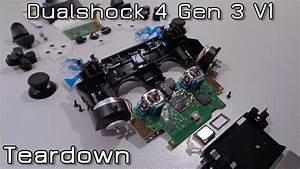 Dualshock 4 Gen 3 V1 Teardown