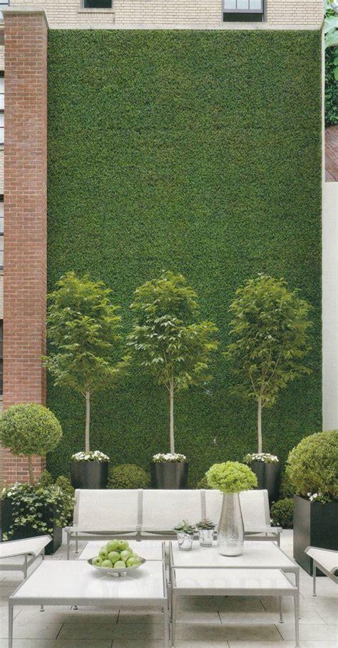 Kleine Terrasse Dekorieren by Deko Terrasse Mit Kleinen Baumchen Garten