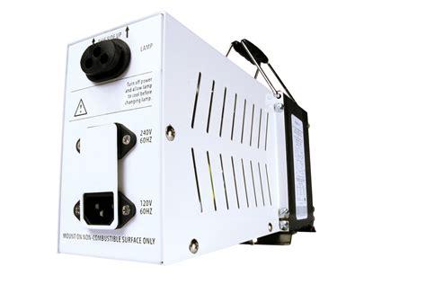 Hydrofarm Sg Lite 600 Watt Magnetic Hps Ballast, 120/240