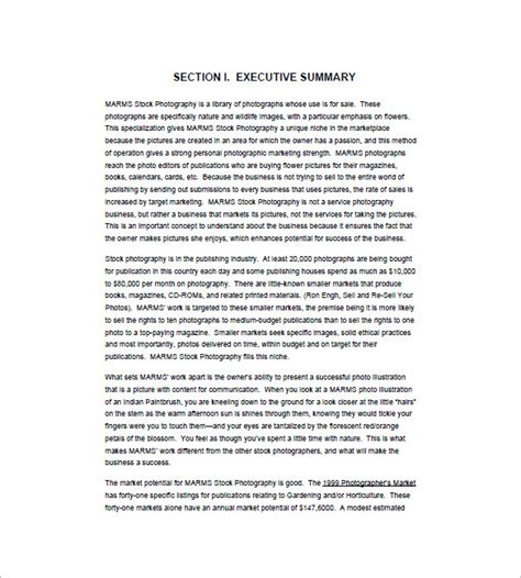 Business Plan Template  108+ Free Word, Excel, Pdf Format