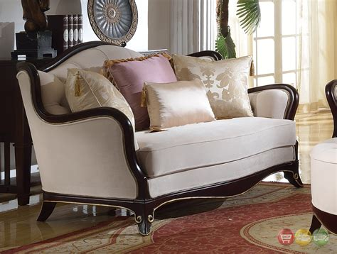 french provencial cabriole style chenille upholstered sofa