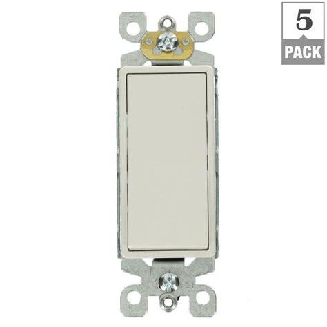 Leviton Decora Amp Way Switch White Pack