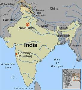 India Map Bombay