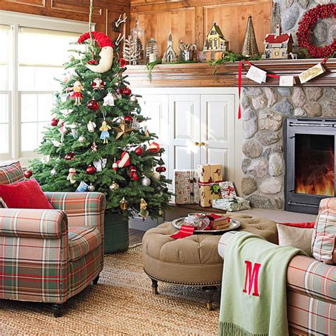 25 Christmas Living Room Design Ideas