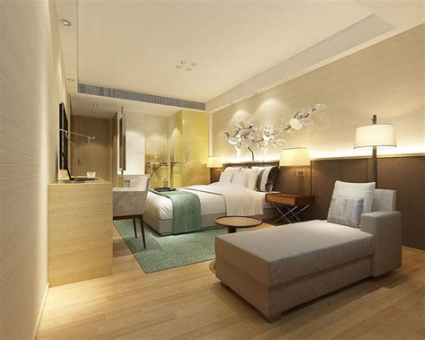 bedroom hotel suites designed  complete  cgtrader