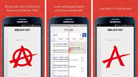 ad block android s play rejects ad blocker app for samsung browser