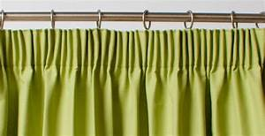 Pleats tabs eyelets figure out the curtain heading to for Pencil pleat curtains on track