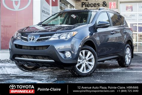 toyota rav limited  pointe claire