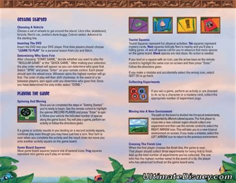 lilo stitchs island  adventures dvd game preview