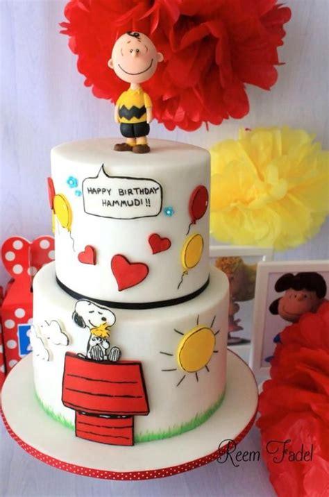 ideas  snoopy cake  pinterest charlie