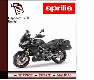 Aprilia Caponord 1200 Workshop Service Manual