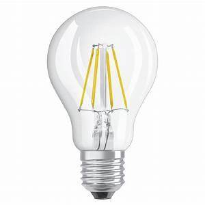 Ampoule E27 Led : osram ampoule led retrofit standard e27 4w 40w a ~ Edinachiropracticcenter.com Idées de Décoration