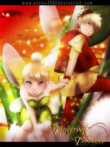 TINKERBELL and TERRENCE by annria2002 on DeviantArt