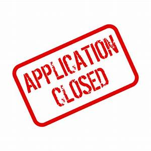 Application closed! – ISWI 2015