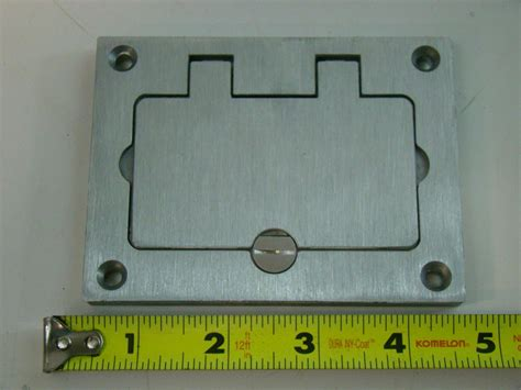 Wiremold Floor Boxes Rectangular by Wiremold Rectangular Floor Box Covers 828gfitcal Ebay