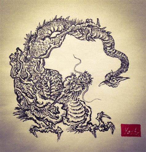 japanese painting pesquisa google painting dragoes gravuras