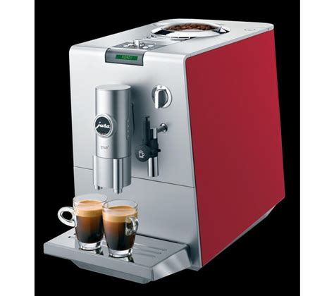 Jura ENA 7 Cherry Red Coffee Maker   review, compare prices, buy online