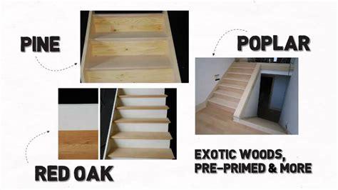 Long Island Stair Builder And Prefab Basement Wood Stair