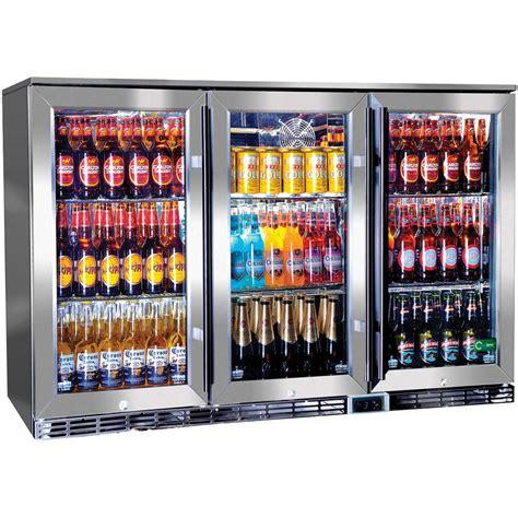 bar fridge 3 door alfresco outdoor glass door bar fridge australia