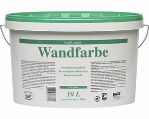 Test Wandfarbe Weiß : wandfarbe wei 10 l bei hornbach kaufen ~ Lizthompson.info Haus und Dekorationen