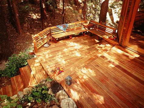 unique deck designs unique deck ideas outdoortheme com