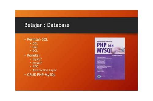 baixar de video tutorial do mysql belajar php