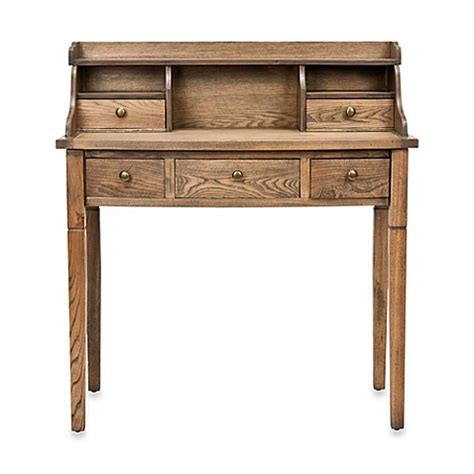 writing desk for bed safavieh landon writing desk bed bath beyond